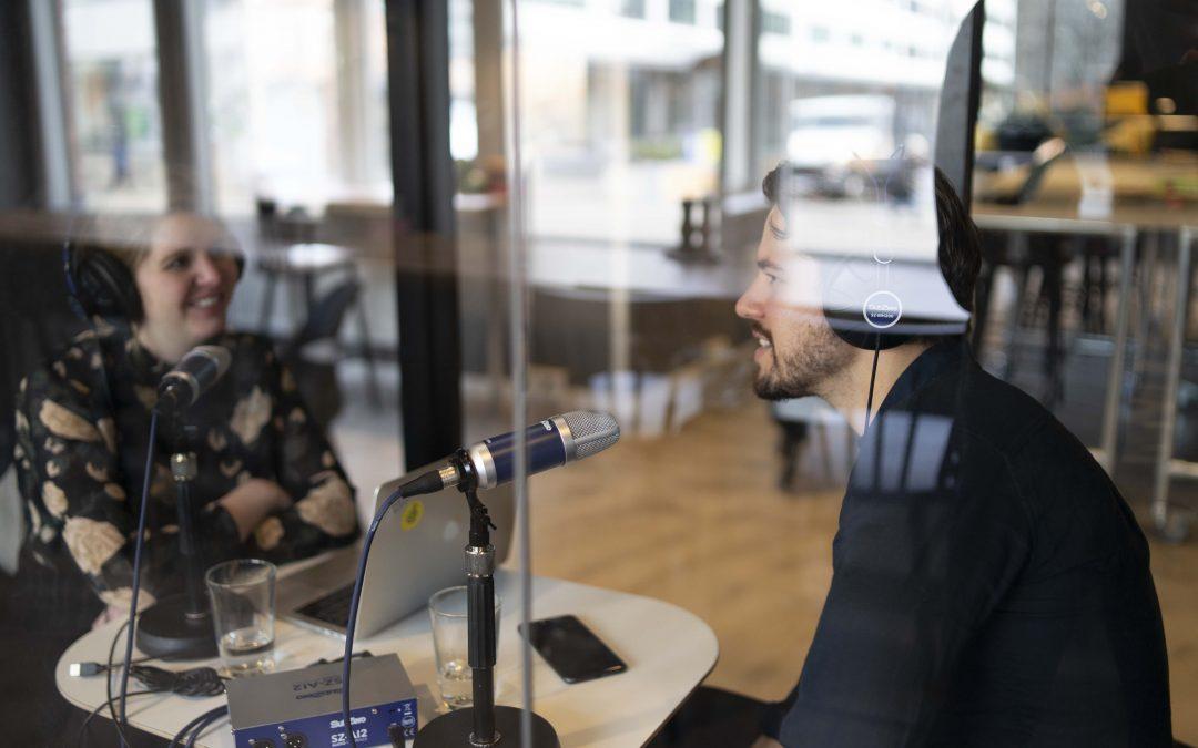 Jobtech-podden about gig economy in Sweden!